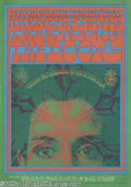 "Music Memorabilia:Posters, The Doors Avalon Poster # FD50-2 (Second Printing), 3/3-4/67(Family Dog, 1967). The ""Break On Through to the Other Side"" de..."