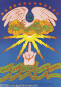 Music Memorabilia:Posters, Electric Flag Avalon Ballroom Poster #FD104 2/3-5/68 (Family Dog,1968). The Electric Flag were one of a number of larger ro...
