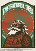 Music Memorabilia:Posters, Grateful Dead Avalon Poster # FD40, 12/23-24/66 (BindweedPress/Family Dog, 1966). Here's another example of why VictorMosc...