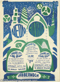 """Music Memorabilia:Posters, Jabberwock Posters Group of 4 (1966). Here's a great group ofposters from one of Northern California's """"forgotten"""" psychede...(4 items)"""