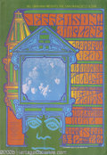Music Memorabilia:Posters, Jefferson Airplane/Grateful Dead/Big Brother and the HoldingCompany Hollywood Bowl Poster #BG81 9/15/67 (Bill Graham, 1967)....