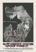 "Music Memorabilia:Posters, PInk Floyd San Diego Community Concourse Poster 10/17/71 (DirectProductions, 1971). Randy Tuten designed this interesting ""..."