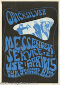 Music Memorabilia:Posters, Quicksilver Messenger Service Poster (1966). One of San Francisco'smost popular bands during the 1960s was Quicksilver Mess...