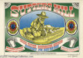 """Music Memorabilia:Posters, Quicksilver Messenger Service Rick Griffin-Signed """"Sutter's Mill""""Poster # FD62, 5/19-21/67 (Family Dog, 1967). A stunning p..."""