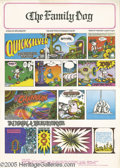 """Music Memorabilia:Posters, Quicksilver Messenger Service """"The Morning Paper"""" Poster # FD89, 10/27-29/67 (Family Dog, 1967). Follow the adventures of Mi..."""
