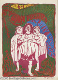Music Memorabilia:Posters, The Town Friars Poster (Soul '67, 1967). Doing performances similarto the SF Mime Troupe in the 1960s were the Town Friars,...
