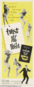 "Music Memorabilia:Posters, ""Twist All Night"" Movie Insert Poster. Sure, the plot was thin andthey used only two sets, but the z-grade musical ""Twist A..."