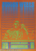 Music Memorabilia:Posters, Junior Wells Matrix Poster (Second Printing) (1966). Fans ofChicago-style blues will want to take a look at this concert po...