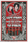 Music Memorabilia:Posters, The White Stripes Posters Group of 5 (various). A lot of five posters that highlight one of the most popular bands in the la... (5 items)