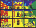 Music Memorabilia:Posters, The Who Shrine Poster, 6/28-29/68 (Pinnacle, 1968). Zap Comixartist Victor Moscoso outdid himself with this mind-blowing po...