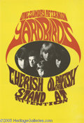 Music Memorabilia:Posters, Yardbirds One Sunday Afternoon Poster (Konst-Sweden, 1967). Thiscolorful Swedish poster features the Jeff Beck-led Yardbird...