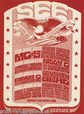 Music Memorabilia:Ephemera, MC5 See Handbill, Detroit (1967). The MC5 play a midnight concert at the See in Detroit; other shows listed include Billy an...