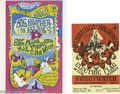 Music Memorabilia:Ephemera, Big Brother and the Holding Company Postcard and Ticket Group(Various). Two tough to find items featuring Janis Joplin and ...