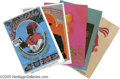 Music Memorabilia:Posters, Family Dog Postcards, Group of 10 (Various). Like mini versions ofthe posters, these postcards are very collectible. This l...