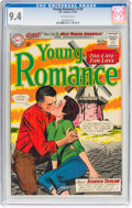 Silver Age (1956-1969):Romance, Young Romance #129 (DC, 1964) CGC NM 9.4 Off-white pages....