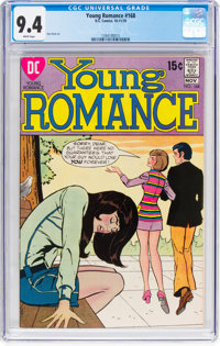 Young Romance #168 (DC, 1970) CGC NM 9.4 White pages