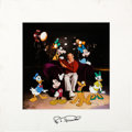 "Animation Art:Limited Edition Cel, ""Roy Disney and Friends"" Limited Edition Cel #123/300 (Walt Disney, 2000).... (Total: 2 )"