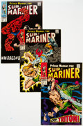 Silver Age (1956-1969):Superhero, The Sub-Mariner Group of 12 (Marvel, 1968-72) Condition: AverageFN.... (Total: 12 )