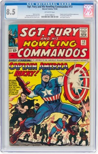 Sgt. Fury and His Howling Commandos #13 (Marvel, 1964) CGC VF+ 8.5 Off-white pages