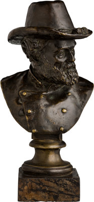 Bronze Bust of Robert E. Lee by Moses Jacob Ezekiel (1844-1917)