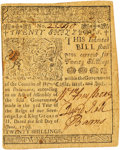 Colonial Notes:Delaware, Colony of Delaware June 1, 1759 20 Shillings Fr. DE-68. PCGS About New 53 Apparent.. ...