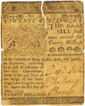 Colonial Notes:Delaware, Colony of Delaware June 1, 1759 20 Shillings Fr. DE-68. PCGS VeryFine 25 Apparent.. ...