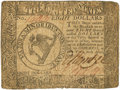 Colonial Notes:Continental Congress Issues, Continental Currency. April 11, 1778 Yorktown Issue $8 Newman 1.1Contemporary Counterfeit Fr. CC-75CF. PCGS Very Fine 20.. ...