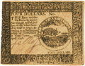 Colonial Notes:Continental Congress Issues, Continental Currency. April 11, 1778 Yorktown Issue $4 Newman 1.1 Contemporary Counterfeit Fr. CC-71CF. PCGS Choice About New ...