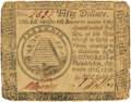 Colonial Notes:Continental Congress Issues, Continental Currency. September 26, 1778 $50 Newman 3.1 Contemporary Counterfeit Fr. CC-85CF. PCGS Fine 15 Apparent.. ...
