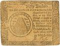 Colonial Notes:Continental Congress Issues, Continental Currency. September 26, 1778 $50 Newman 2.2 Contemporary Counterfeit Fr. CC-85CF. PCGS Very Fine 30.. ...