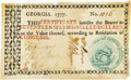 Colonial Notes:Georgia, Georgia 1777 No Resolution Date $17 Fr. GA-93. PCGS Extremely Fine 40 Apparent.. ...
