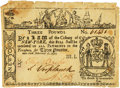 Colonial Notes:New York, Colony of New York February 16, 1771 3 Pounds ContemporaryCounterfeit Fr. NY-165CF. PCGS Very Fine 35 Apparent.. ...