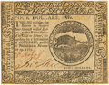 Colonial Notes:Continental Congress Issues, Continental Currency November 29, 1775 $4 Fr. CC-14. PCGS About New50 Apparent.. ...