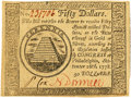 Colonial Notes:Continental Congress Issues, Continental Currency September 26, 1778 $50. Fr. CC-85 PCGS ChoiceAbout New 55PPQ.. ...
