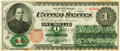 United States of America - Fr. 16c $1 1862 Legal Tender. PCGS Choice About New 58 Apparent