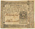 Colonial Notes:Pennsylvania, Pennsylvania March 20, 1773 6 Shillings Fr. PA-160. PCGS Very Fine30.. ...