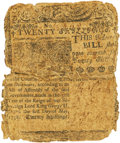 Colonial Notes:Delaware, Colony of Delaware May 1, 1758 20 Shillings Fr. DE-60. PCGS VeryGood 8 Apparent.. ...