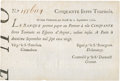 Colonial Notes:Georgia, La Banque (Royale) September 2, 1720 50 Livres SCWPM# A23. PCGS Extremely Fine 45 Apparent.. ...