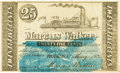 Obsoletes By State:Louisiana, Franklin, LA - Marcus Walker 25 Cents May 1862. PCGS About New 53PPQ.. ...