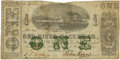 Obsoletes By State:Louisiana, New Orleans, LA- Red River Packet Co. $1 Dec. 1, 1861. PCGS Fine 15.. ...
