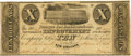 Obsoletes By State:Louisiana, New Orleans, LA - New Orleans Improvement and Banking Co. (Banque des Amèliorations) $10 June 8, 1836, 1836 LA-120 G4. PCGS Fi...