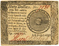 Colonial Notes:Continental Congress Issues, Continental Currency. September 26, 1778 $60 Newman 1.1 Contemporary Counterfeit Fr. CC-86CF. PCGS About New 53.. ...