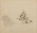 Animation Art:Production Drawing, Two-Gun Mickey Mickey Mouse Animation Drawing (Walt Disney, 1934). ...