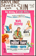 """Movie Posters:Comedy, The Parent Trap & Others Lot (Buena Vista, 1961). Window Cards(40) (14"""" X 22""""). Comedy.. ... (Total: 40 Items)"""