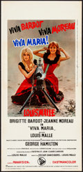 "Movie Posters:Adventure, Viva Maria! (Dear, 1966). Italian Locandina (13"" X 27.5"").Adventure.. ..."