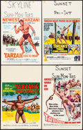 "Movie Posters:Adventure, Tarzan's Fight for Life & Others Lot (MGM, 1958). Window Cards(12) (14"" X 22""). Adventure.. ... (Total: 12 Items)"