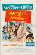 """Movie Posters:Comedy, Artists and Models (Paramount, 1955). One Sheet (27"""" X 41""""). JosephSmith Artwork. Comedy.. ..."""