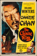 """Movie Posters:Mystery, The Chinese Ring (Monogram, 1947). One Sheet (27"""" X 41""""). Mystery....."""
