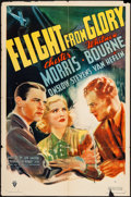 """Movie Posters:Action, Flight From Glory (RKO, 1937). One Sheet (27"""" X 41""""). Action.. ..."""