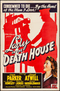 "Movie Posters:Drama, Lady in the Death House (PRC, 1944). One Sheet (27"" X 41""). Drama....."